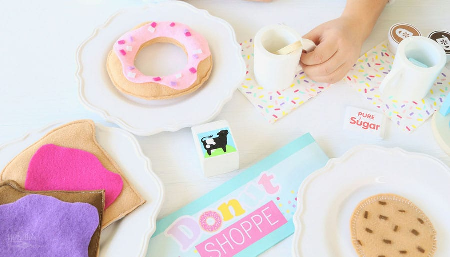 How to Make Felt Donuts