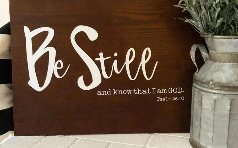 How to Make a Scripture Sign in Under 15 Minutes