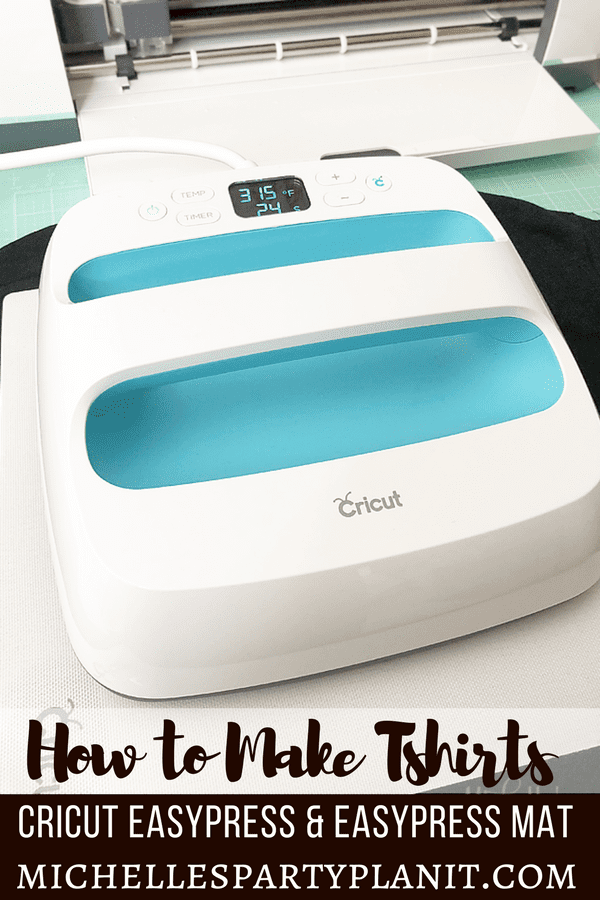 how to make tshirts with the cricut easypress and easypress mat