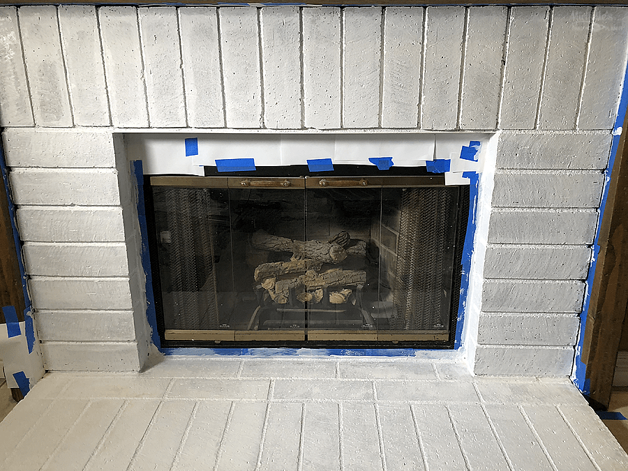 Primed Fireplace