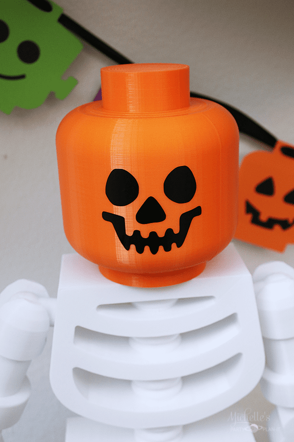 Lego Brick or Treat Halloween Party Decor