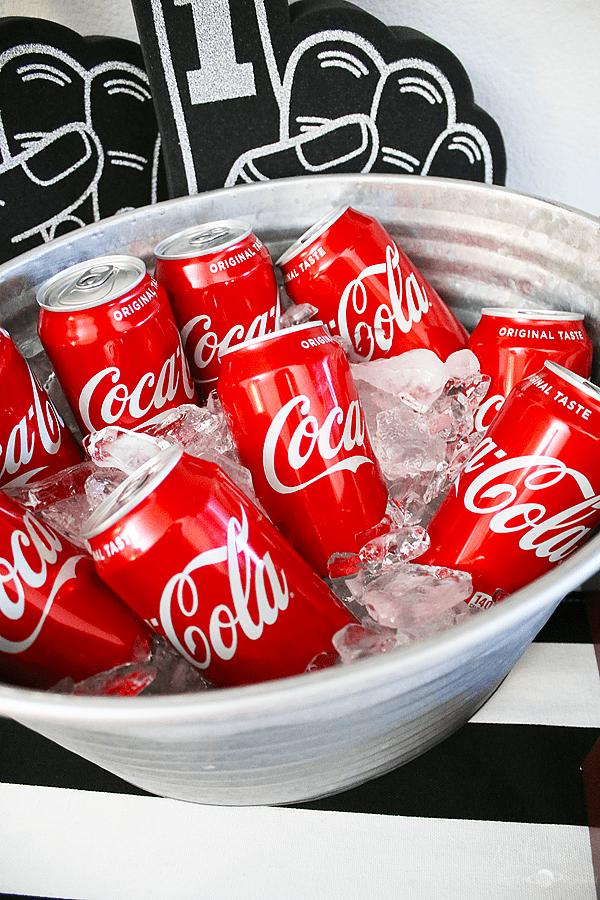 Coke football party 2