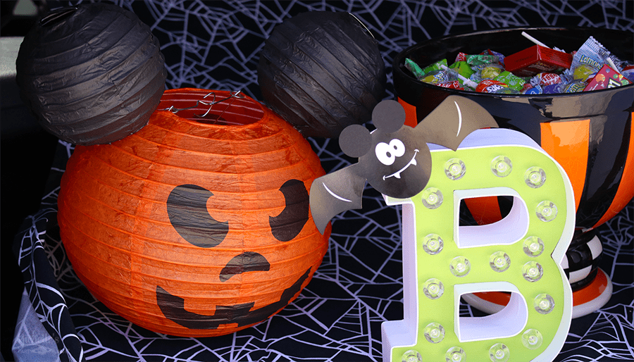 Mickey's Halloween Trunk or Treat Decorations