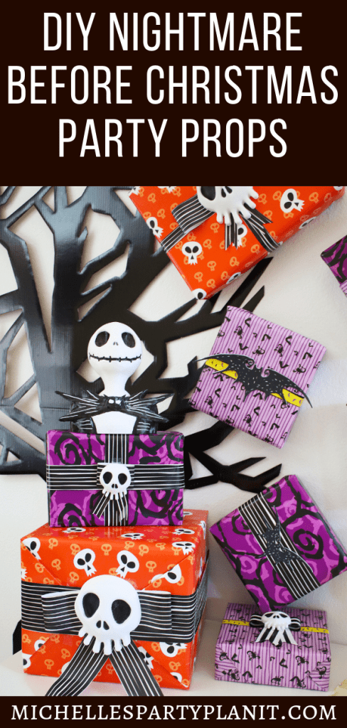 NIGHTMARE BEFORE CHRISTMAS PARTY PROPS
