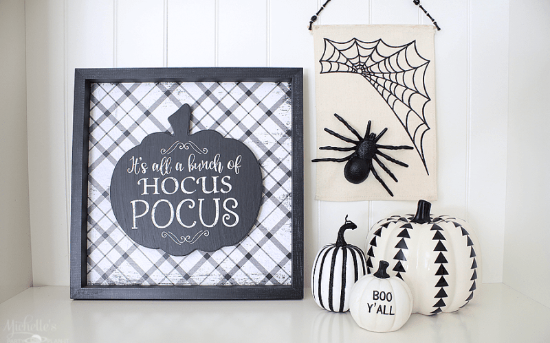 How to Make a Wicked Web Halloween Banner with Gorilla Glue