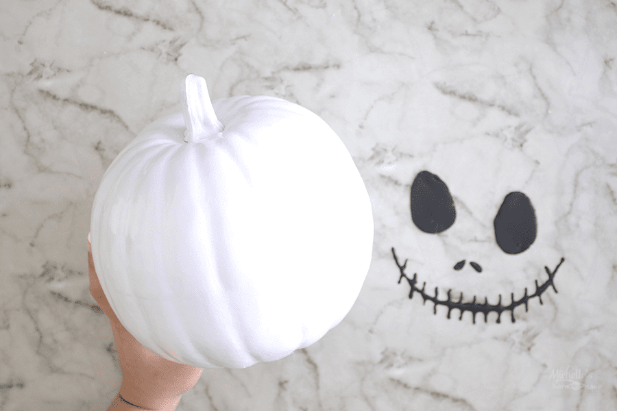 DIY Jack Skellington Pumpkin Idea