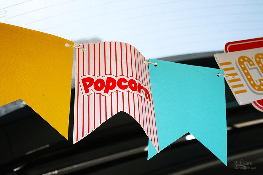 Popcorn Banner