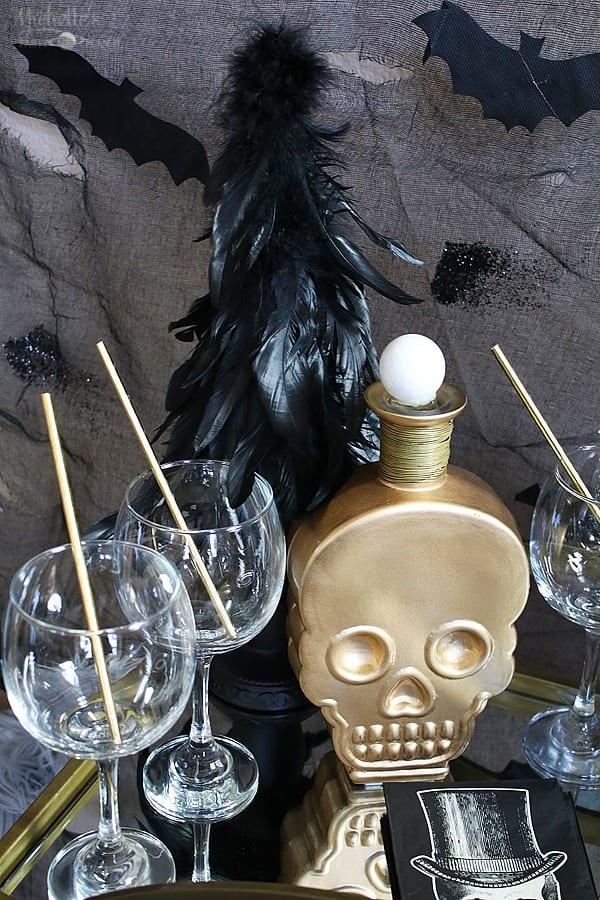 Vintage Halloween Cocktails