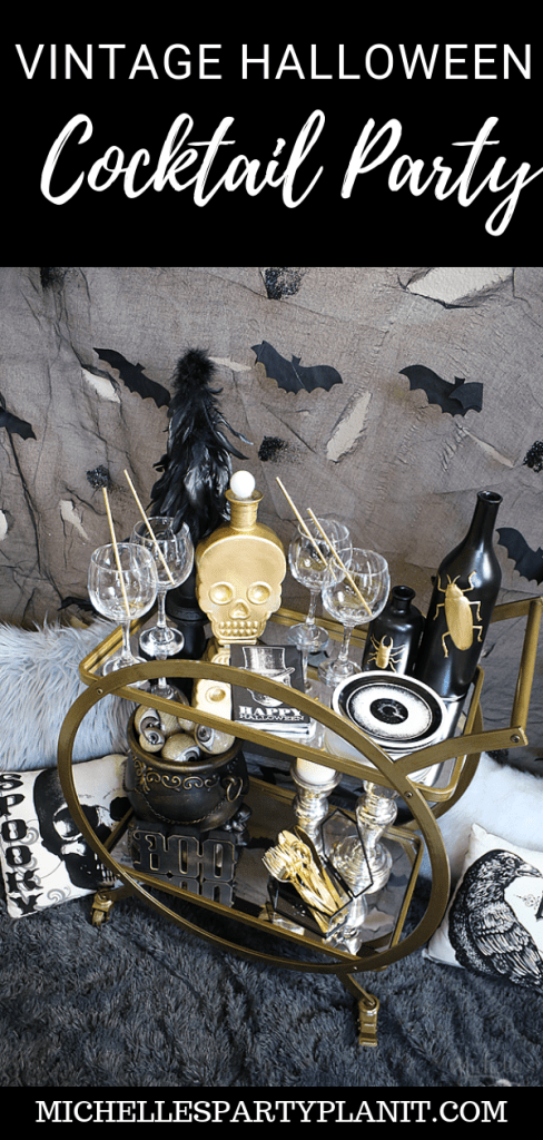 Vintage Halloween Cocktail Party
