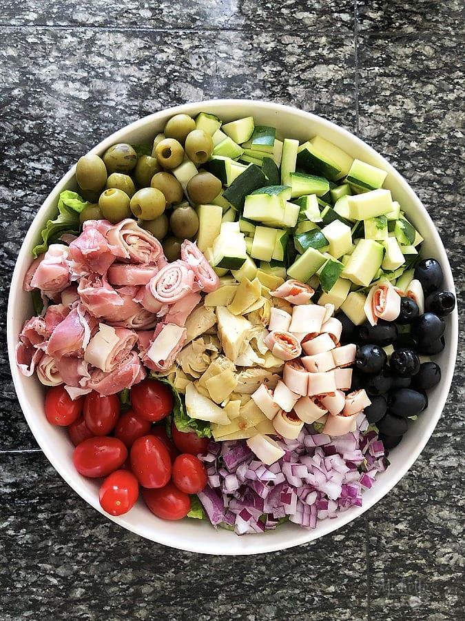 Antipasto salad recipe