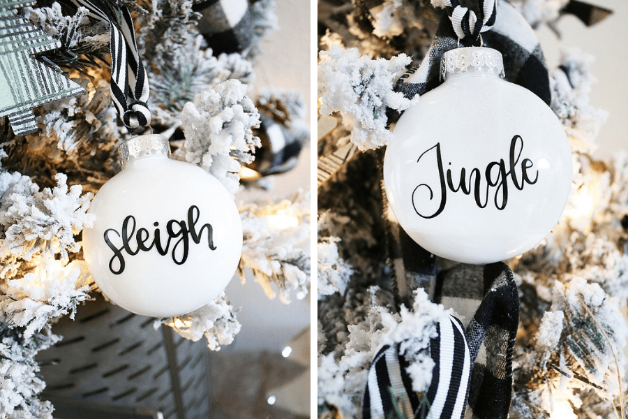 Simple DIY Christmas Ornaments by Michelle Stewart