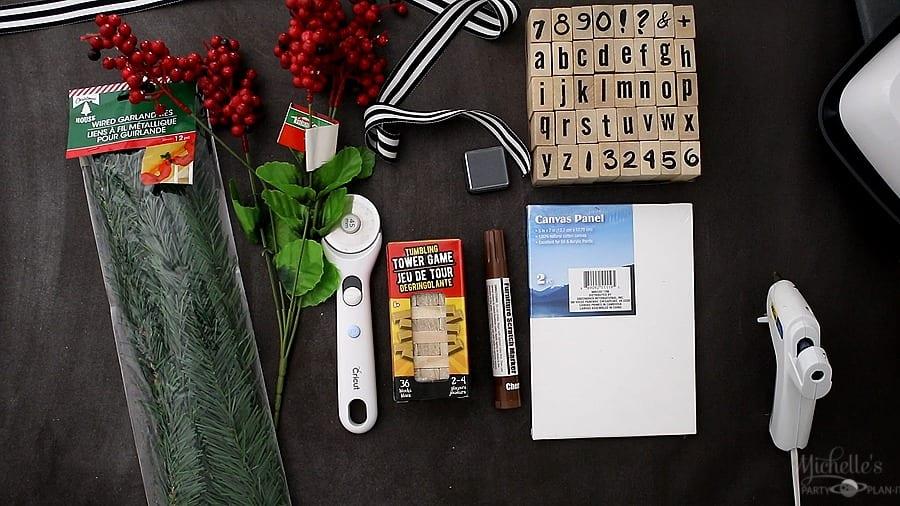 Diy farmhouse christmas ornaments supplies