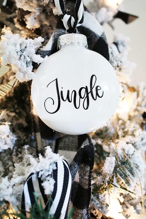 DIY Christmas Ornaments - Jingle