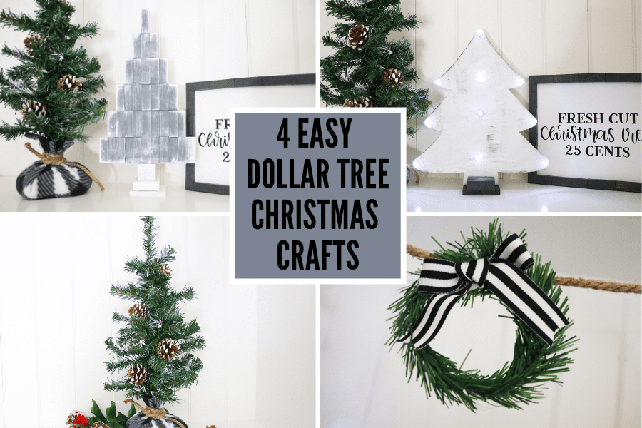 4 Easy Dollar Tree Christmas Crafts Video Tutorial Michelle S