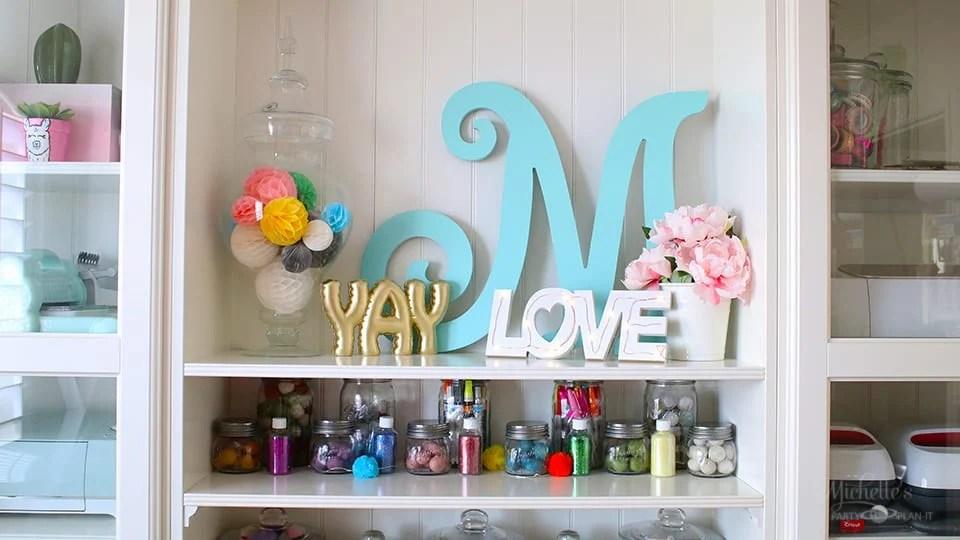 Diy tabletop love sign 2
