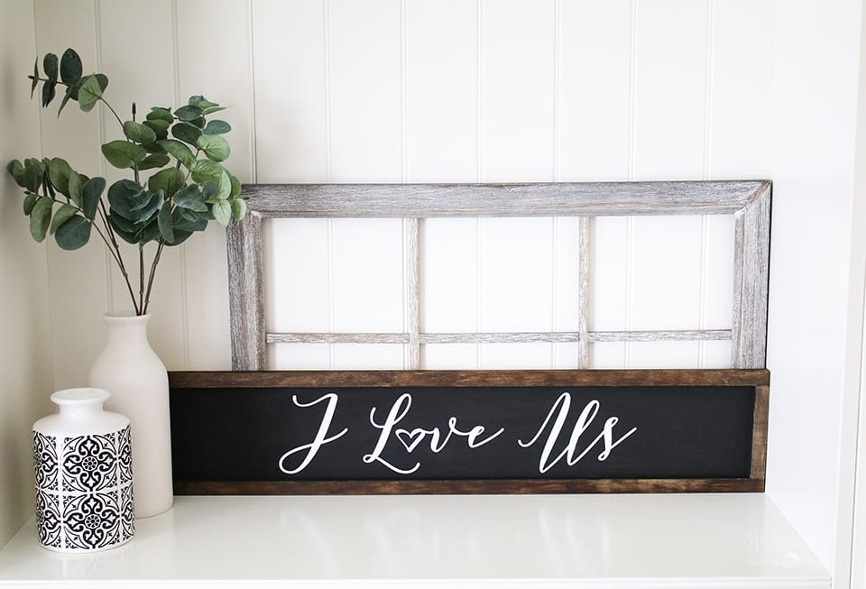 how to make farmhouse signs