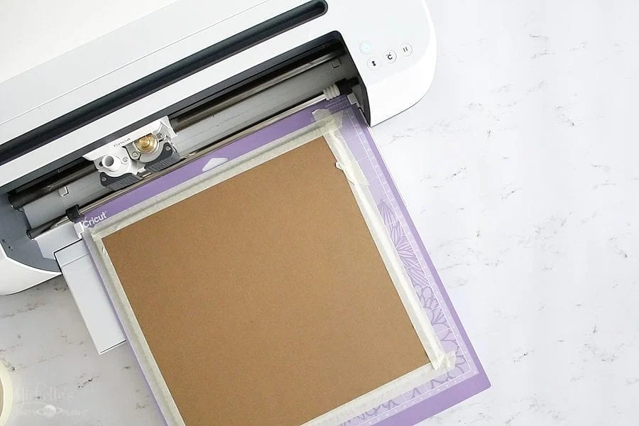 How to cut chipboard cricut maker