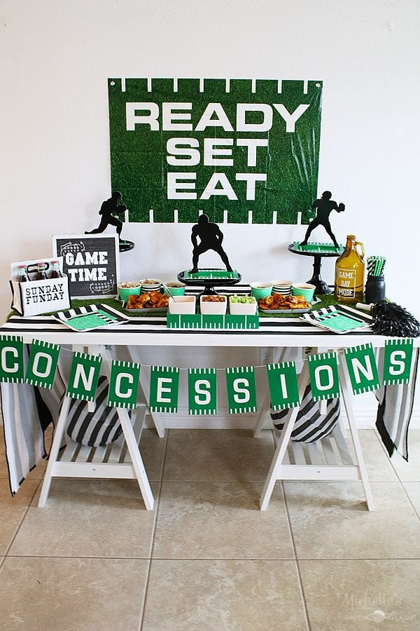 Sunday football party ideas 10