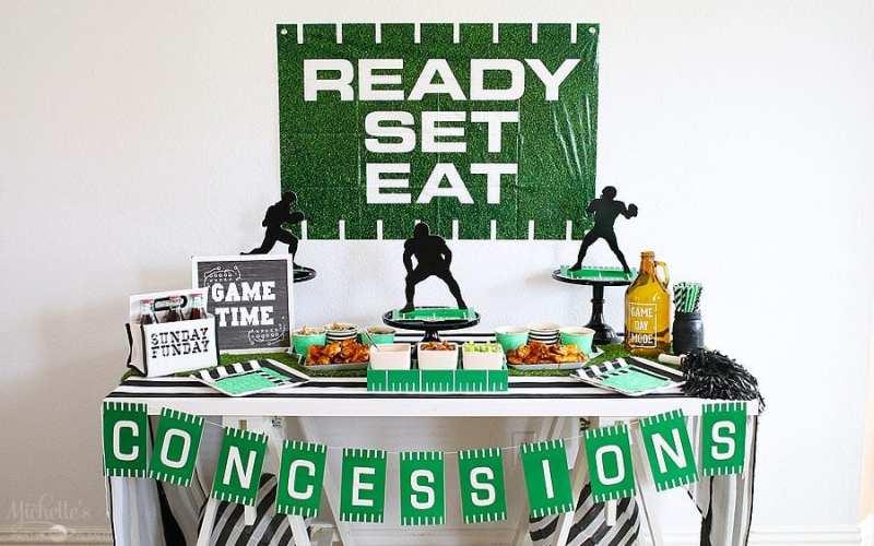 Ready…Set…Eat…Football Party Ideas