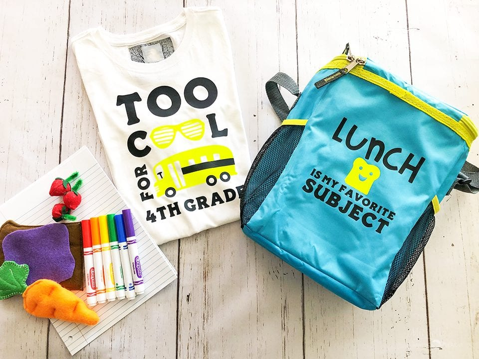 Back to school shirt lunchpail