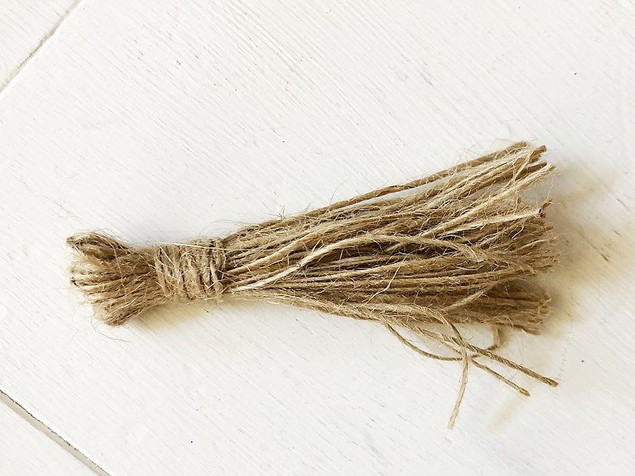 Diy football wood bead garland 5