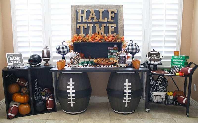 Fun fall football party ideas 10