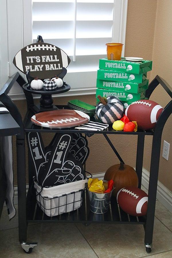 Fun fall football party ideas 12