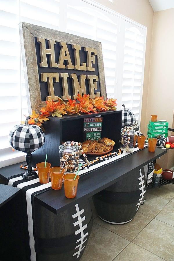 Fun fall football party ideas 15