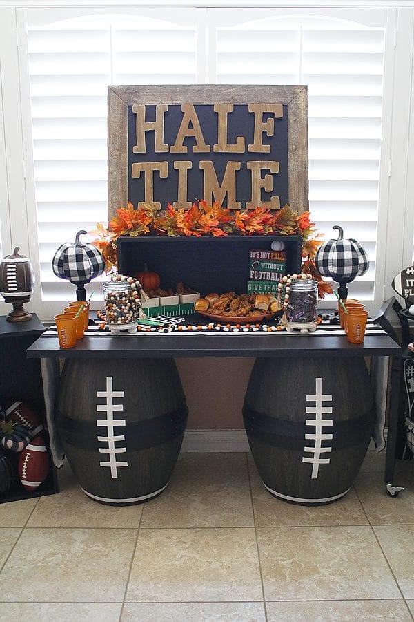 Fun fall football party ideas 17