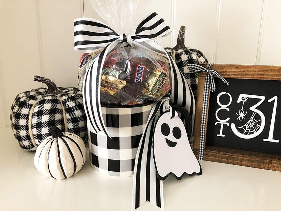 Diy Boo Gift Tags Halloween Cricut Maker Craft