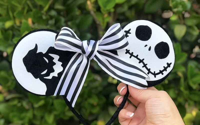 Nightmare before christmas minnie ears 10