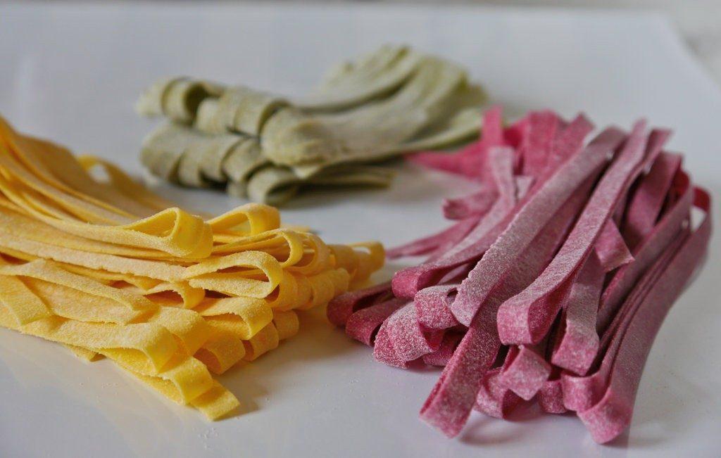 Homemade Fettucine Pasta
