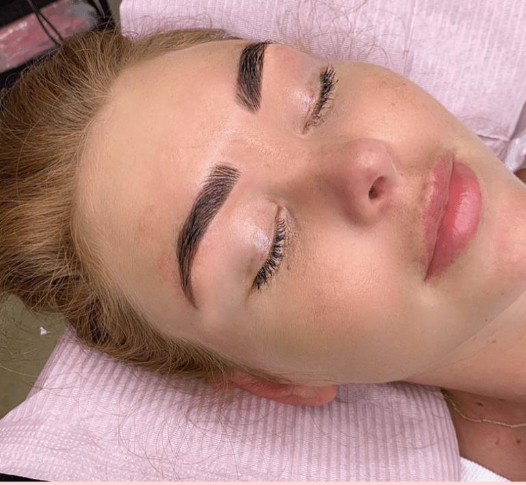 brow henna glance  Michelle turner