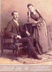 Permelia Hanks and Alex Dunn