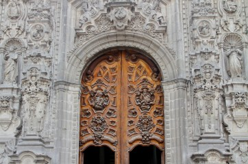 doors partly open