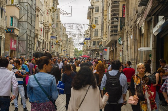see and be seen on istiklal street