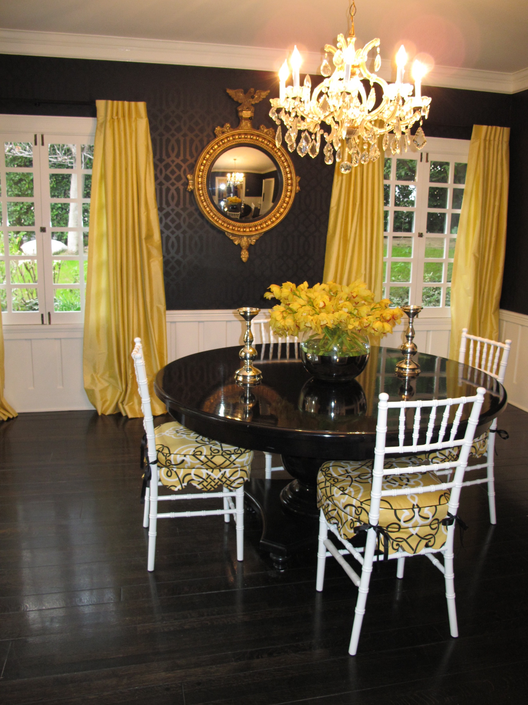 Nature Or Nurture Yellow And Black Furnishing A