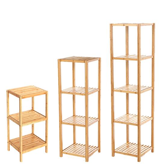 kitchen shelf fan filter bamboo bathroom rack freestanding bookcase shelving unit wooden