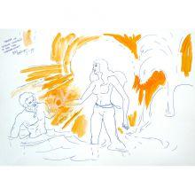 Tarana und Douglas Goldfield im See der Unsterblichkeit'