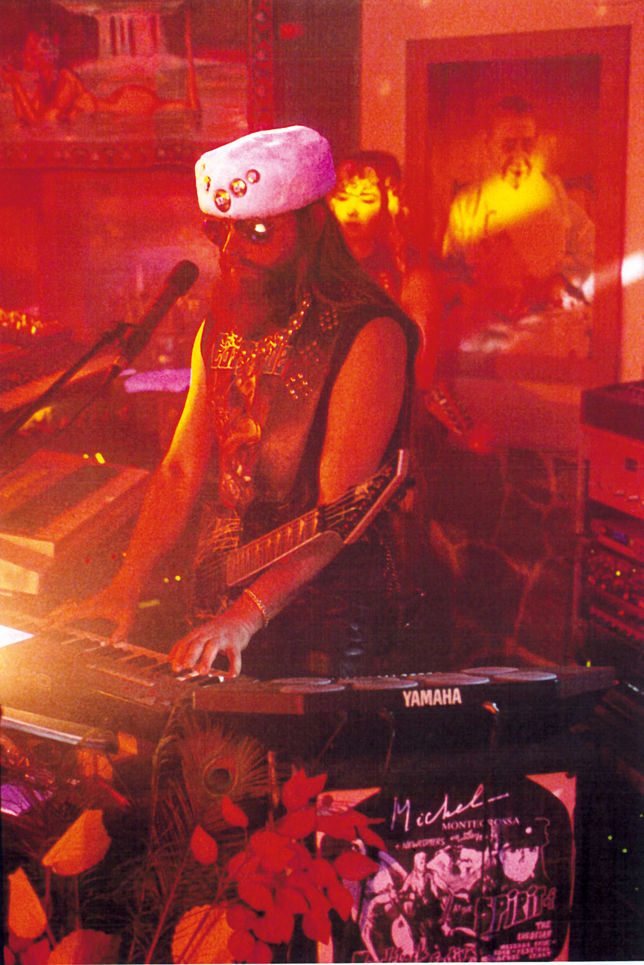 Michel Montecrossa on keyboards