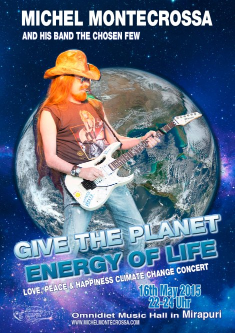 Michel Montecrossa's Give The Planet Energy Of Life Concert