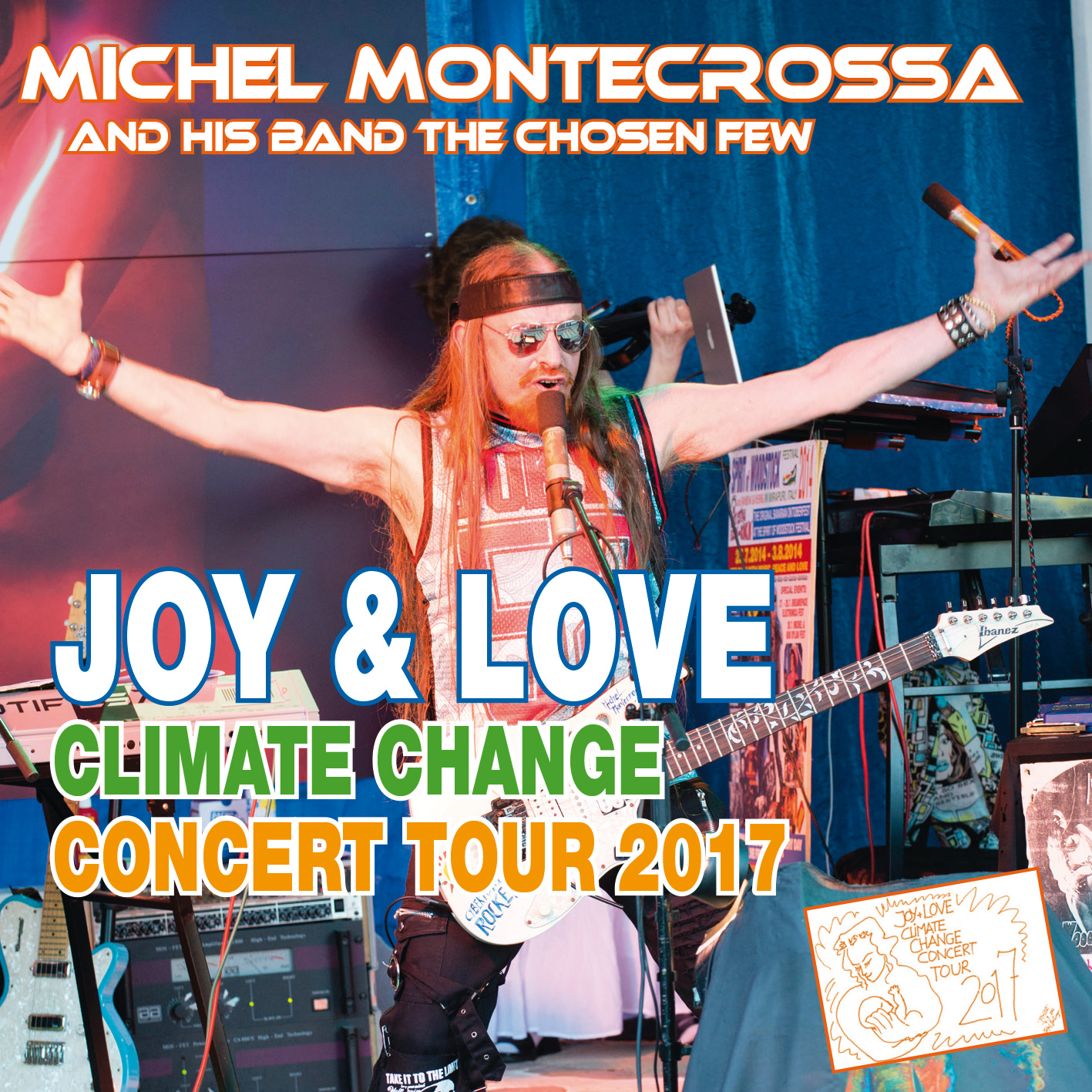 Joy & Love Climate Change Concert Tour 2017