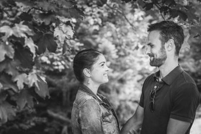 Photo couple noir et blanc