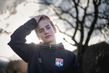 Photo portrait adolescent