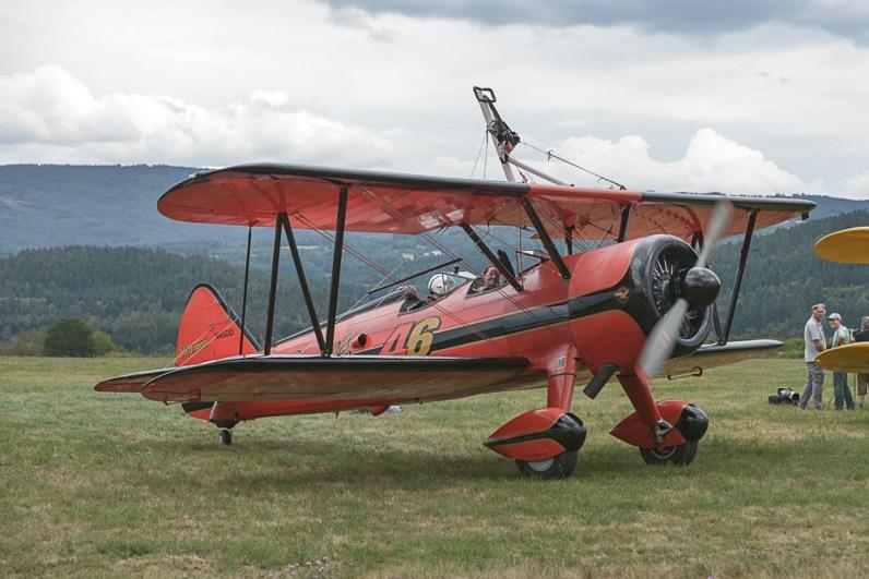 N540D Boeing Stearman