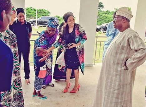 Little Boy, Taju Meets With Oyo State Governor, Ajimobi & His Wife