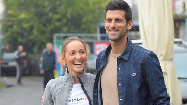 Djokovic and Jelena