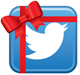 Twitter Christmas promotion