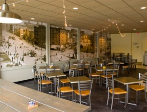 Foodtruck Cafe of Berkley, Michigan