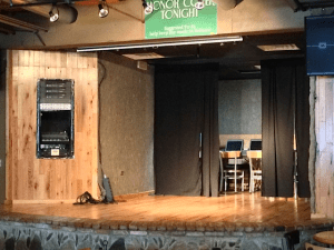 Short's Brewing brewpub stage